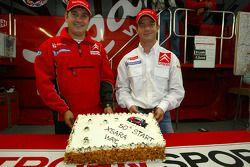 Себастьен Лёб празднует 50 звезду Citroën Xsara WRC