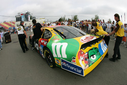 M&M's Ford heads to pitlane