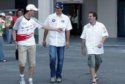 Ralf Schumacher, Mark Webber ve Jacques Villeneuve