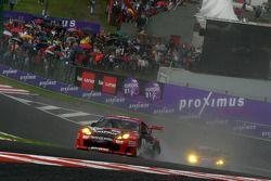 #175 Ian Khan Porsche 996 GT3-RSR: Paul Belmondo, Ian Khan, Charles De Pauw, Alain Van Den Hove