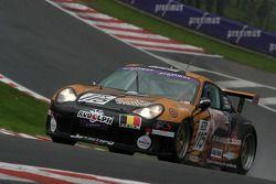 #115 EBRT Porsche 996 GT3 Cup: Olivier Muytjens, Raphael Coenen, Roger Grouwels