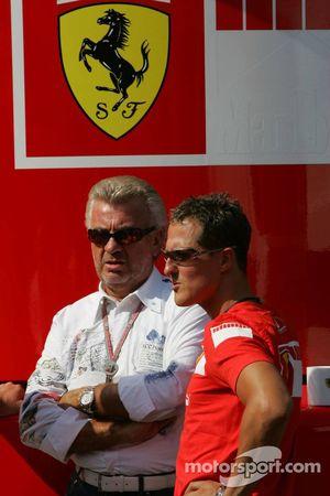 Willi Weber ve Michael Schumacher