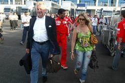 Willi Weber ve Corina Schumacher
