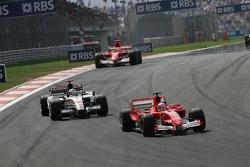 Rubens Barrichello et Jenson Button