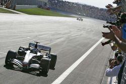 Il vincitore della gara, Kimi Raikkonen