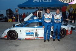 Andy Wallace, Tony Stewart with MDA car