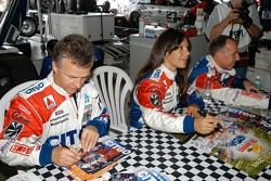 Jan Lammers, Milka Duno and Andy Wallace