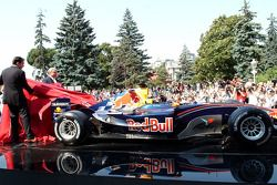Red Bull Racing otomobil ready to go
