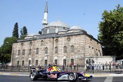 David Coulthard, Red Bull Racing otomobil streets, Istanbul