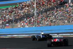 Jacques Villeneuve and Ralf Schumacher
