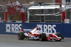 Jarno Trulli finishes 6th