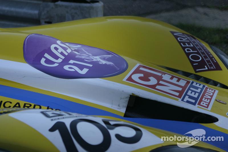 #105 Belgian Racing Gillet Vertigo