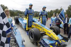 Giancarlo Fisichella ve Fernando Alonso