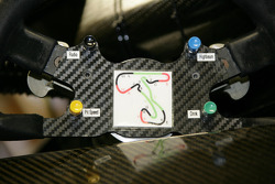 Cockpit of the Audi A4 DTM