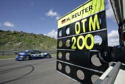 Congratulation message for Manuel Reuter