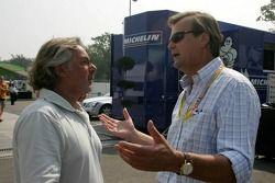 Keke Rosberg and Markku Alen