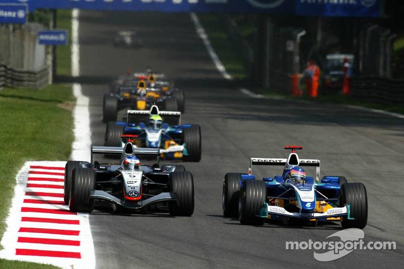 Batalla de Jacques Villeneuve y Kimi Raikkonen