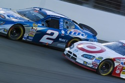 Rusty Wallace and Casey Mears