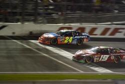 Bandera verde: Ward Burton delante de Dale Earnhardt Jr.