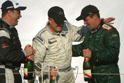 Podium: Klaus Graf celebrates with Greg Pickett and Paul Fix II