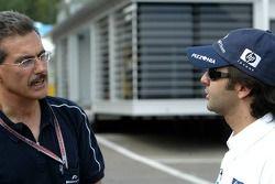 Dr Mario Theissen et Antonio Pizzonia