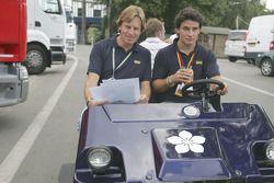 Giorgio Pantano with David Sears