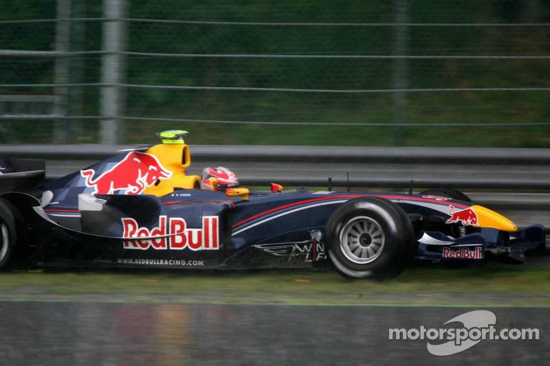 Vitantonio Liuzzi en su primera vuelta