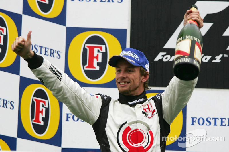 Podio: tercer lugar Jenson Button