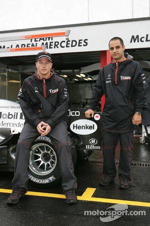 McLaren announces news sponsorship deal with Hilton: Kimi Raikkonen and Juan Pablo Montoya