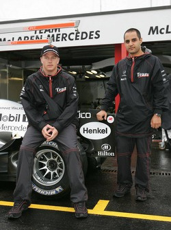 McLaren anuncia acuerdo de patrocinio con Hilton: Kimi Raikkonen y Juan Pablo Montoya