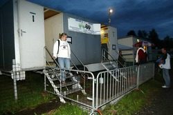 Campamento de los fans en Spa