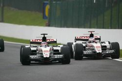 Takuma Sato et Jenson Button