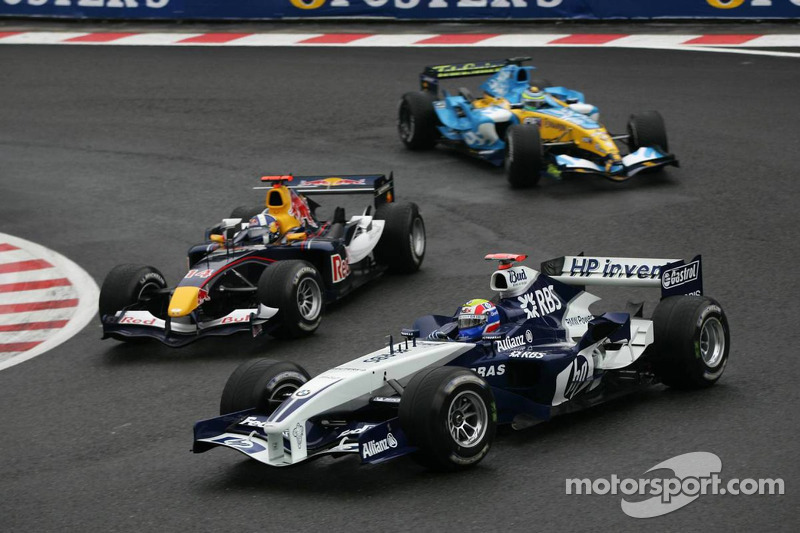 Mark Webber y David Coulthard