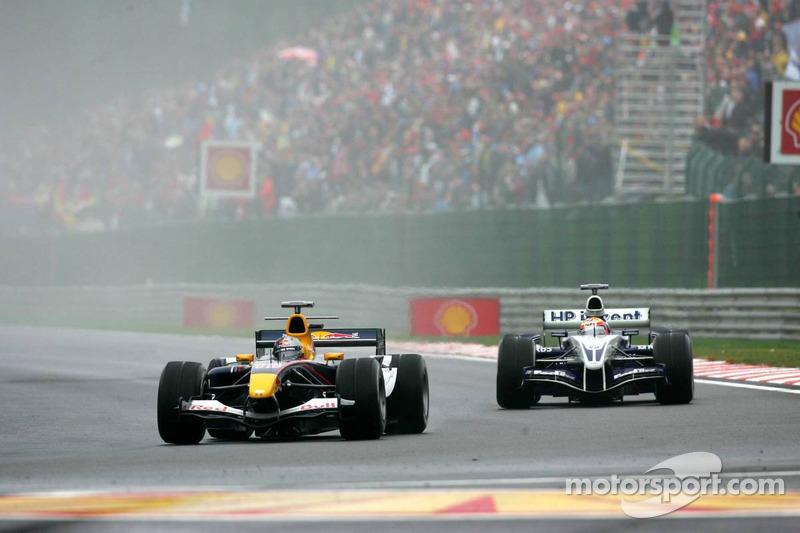David Coulthard and Antonio Pizzonia