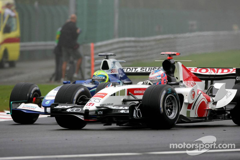 Batalla de Felipe Massa y Jenson Button