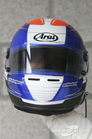 Helmet of Toni Vilander