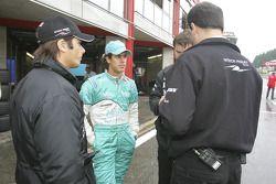 Nelson A. Piquet and Alexandre Negrao
