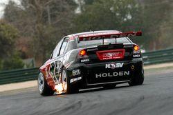 HSV driver Rick Kelly through Turn 1