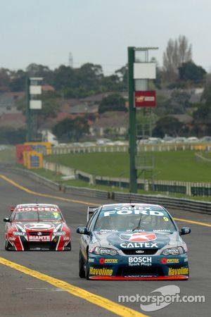 Russell Ingall topped the time sheets for the first session