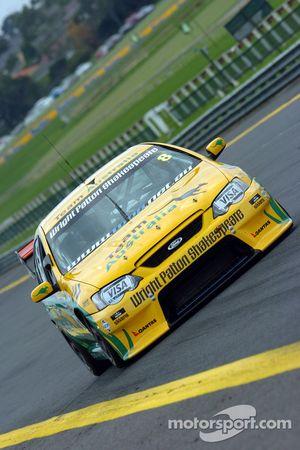 Champ Car driver Alex Tagliani in the Team Australia Ford