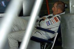 A relaxed Paul Morris