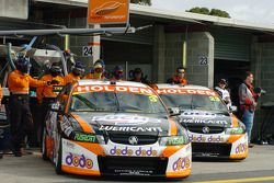 The DoDo Racing Team wait for the start
