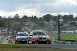 Pole sitter Rick Kelly dropped back after a poor start