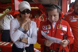 Jean Todt with his girlfriend Michelle Yeoh
