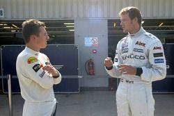 Christian Klien ve Alexander Wurz