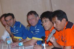 Пресс-конференция команды Yamaha