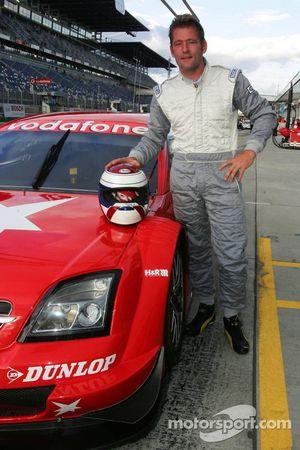 Jos Verstappen test de Opel Vectra GTS V8 DTM