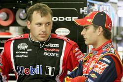 Ryan Newman y Jeff Gordon