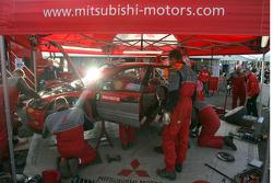 Area de servicio de Mitsubishi