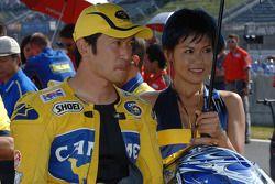 Tohru Ukawa en la parrilla de salida